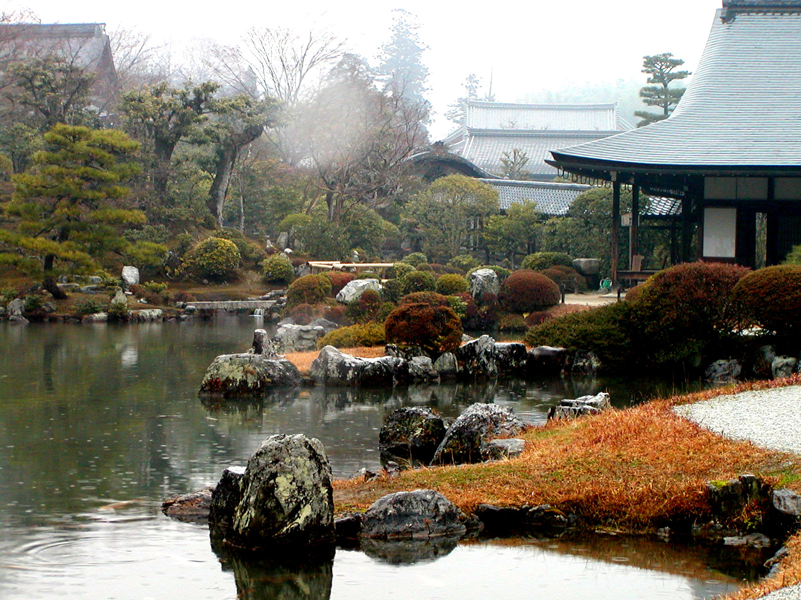 Kyoto Japan  City pictures : Temple In Japanese Kyoto Gardens 750x421 Beautiful Kyoto Gardens Japan ...